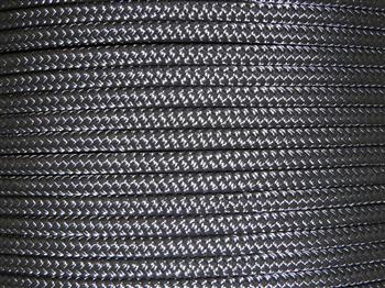 Black Horse Lead Rope - 14mm