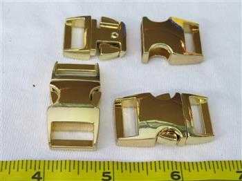 Metal Buckle - Gold 15mm (5/8 inch)
