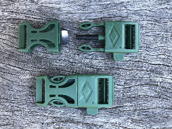 Fire Starter Buckles - Military Green