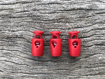 Barrel Toggle - small Red