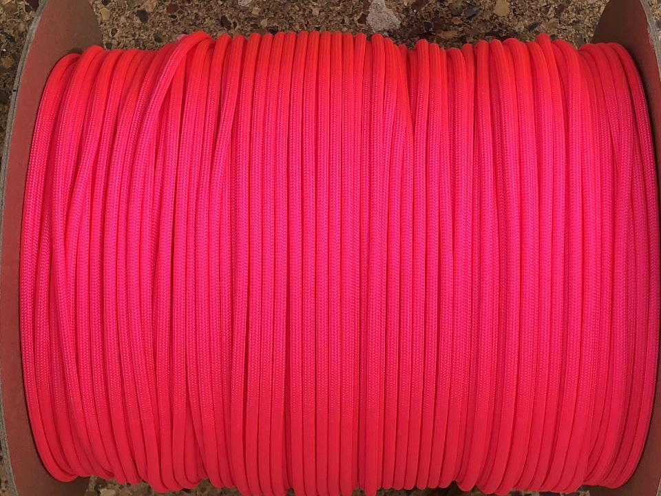 Neon Pink 750 Paracord