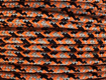 Beige-Orange-Black Appaloosa Horse Halter - 8mm