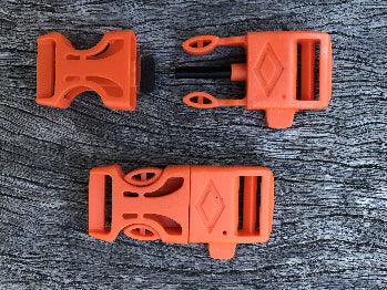Fire Starter Buckles - Orange