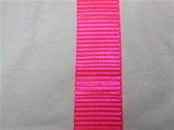 Polyester webbing - Pink 25mm