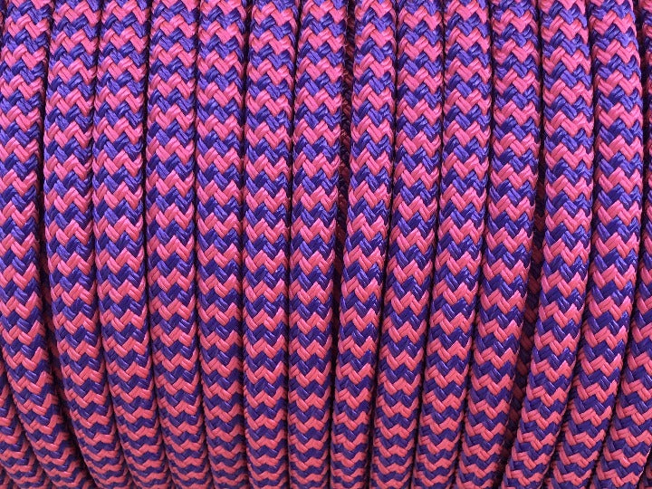 Pink-Purple zigzag Rope - 10mm