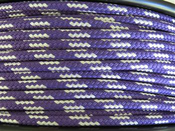 Purple-White  Rope - 6mm