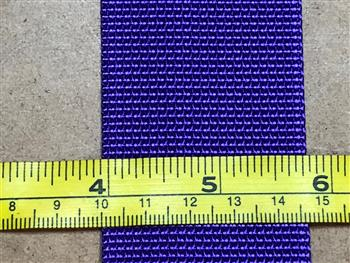 Polyester webbing - Purple 50mm