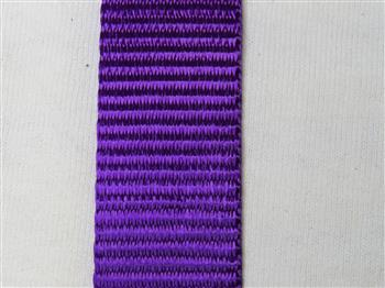 Polyester webbing - Purple 25mm