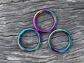 O Ring - 25mm x 4mm - Rainbow