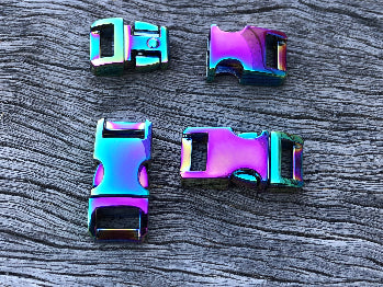 Rainbow buckle - 10mm (3/8 inch)