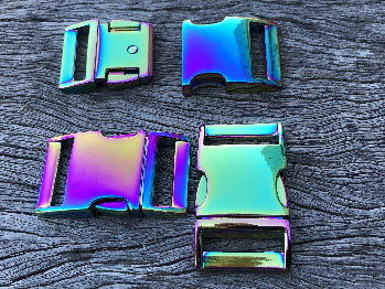 Rainbow buckle - 25mm (1 inch)