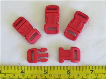 Red buckles - 12mm (1/2 inch)