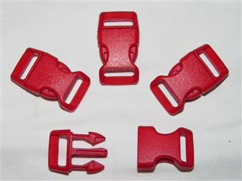 Red Buckles - 15mm (5/8 inch)