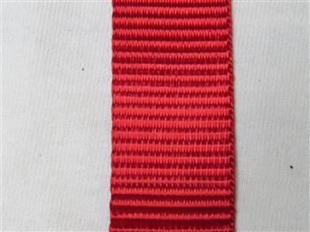 Polyester webbing - Red 25mm