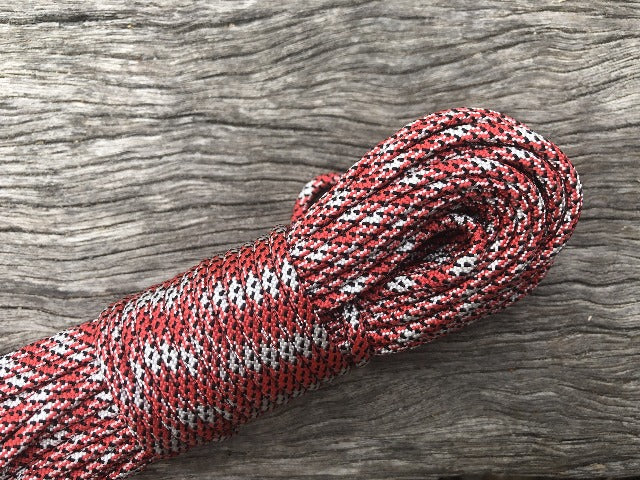 Red-White Boom Paracord
