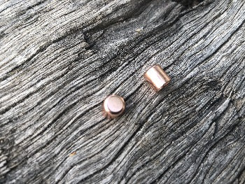 Cord End Cap - Rose Gold 6mm
