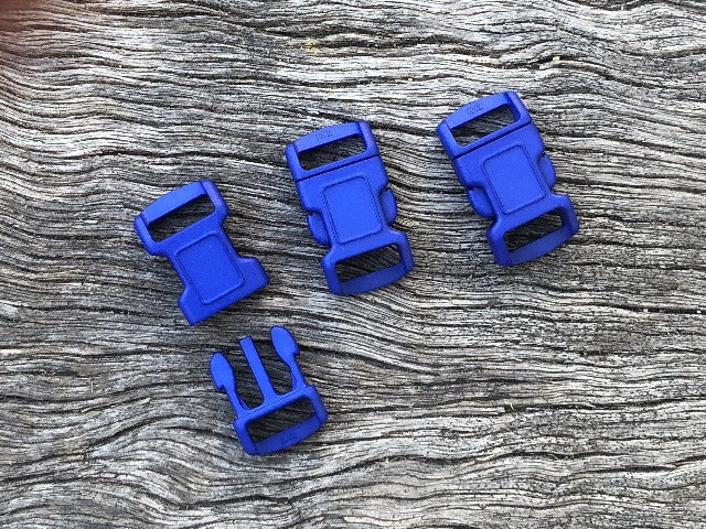 Royal Blue Buckles - 10mm (3/8 inch)