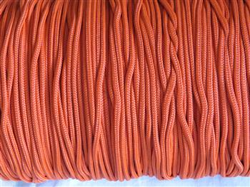 Solar Orange - 3mm Macrame