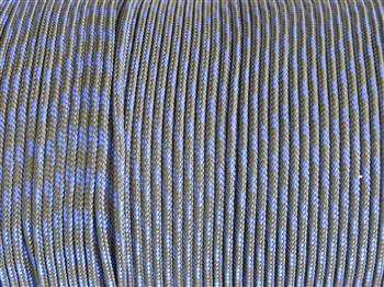 Thin Blue Line - 3mm Macrame