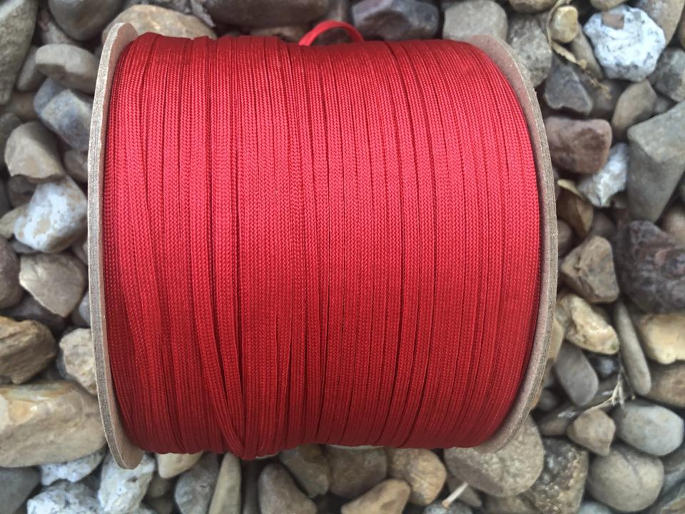 Whipmaker's Cord - Imperial Red