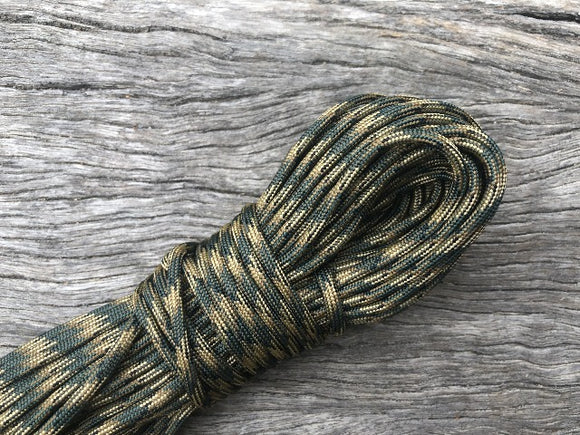 Woodland Camo Paracord