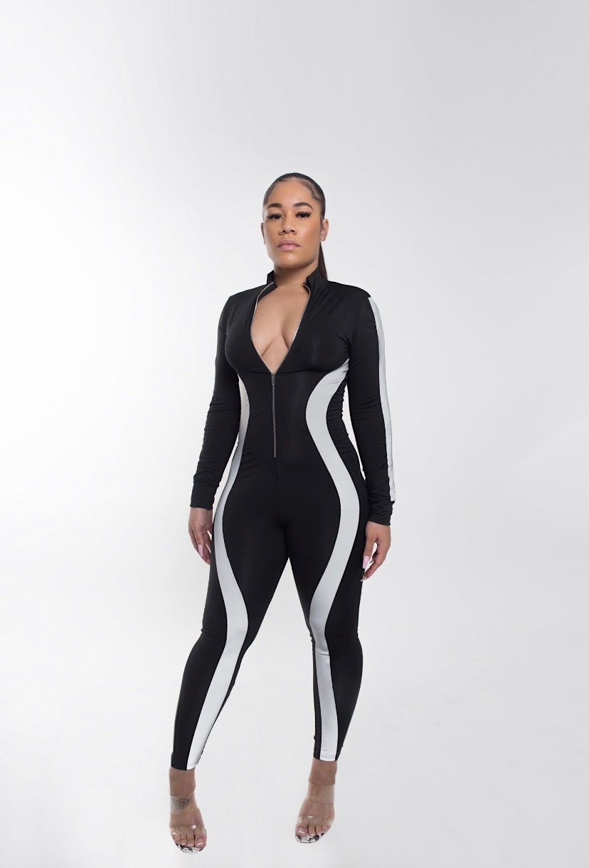 Electric Jumpsuit set