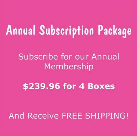 Annual Membership, FREE SHIPPING
