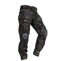 IDOGEAR Tactical BDU G3 Combat Pants With Knee Pads - Nova Sloth