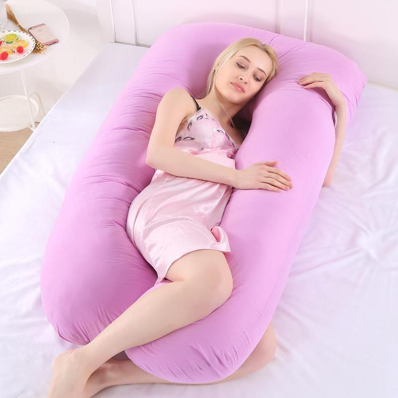 Pregnancy Pillow Comfort Soft Cover U-Type Maternity Pillow - Nova Sloth