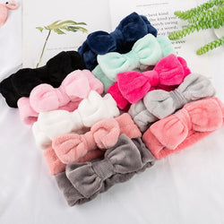 Coral Fleece Soft Headband Cross Top Kont Hairband Elastic Hair Band For Women Girls Wash Face Turban Headwear Hair Accessories - Nova Sloth