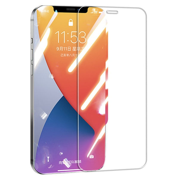 Full Cover Tempered Glass For iPhones - Nova Sloth