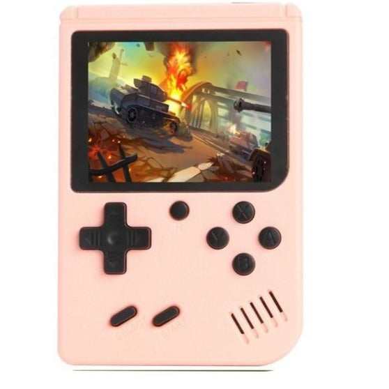 500 Game Pocket Game Console 3.0 inch Mini Handheld Game Player 8 Bit Retro Consoles LCD Video Gaming Console For Kids Gifts