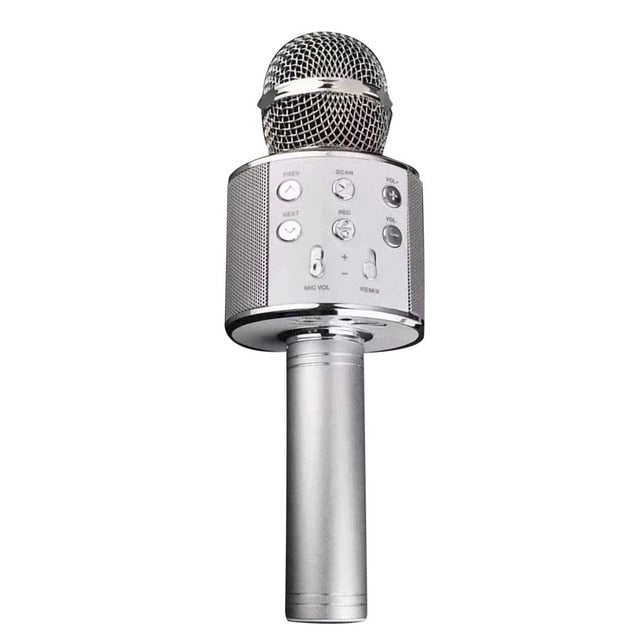 Bluetooth Karaoke Wireless Microphone Professional Speaker Handheld Microphone Player Singing Recorder Mic - Nova Sloth