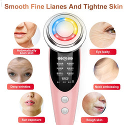 7in1 RF&EMS Radio Mesotherapy Electroporation lifting Beauty LED Face Skin Rejuvenation Remover Wrinkle Radio Frequency