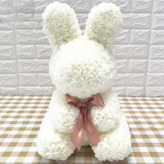 Rose Easter Bunny for Easter 40CM - Nova Sloth