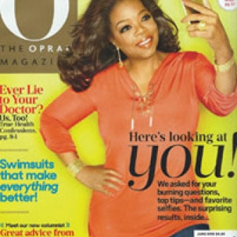 THE OPRAH MAGAZINE X SQUEEM