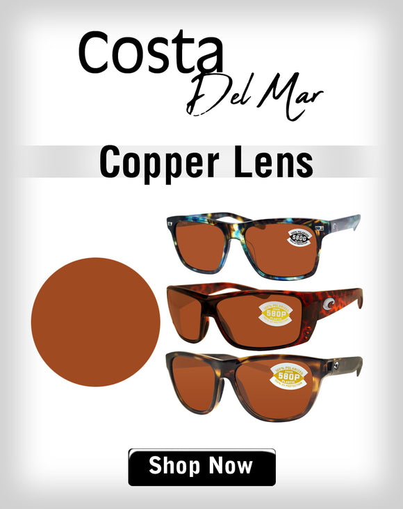 Costa Del Mar Copper Lens