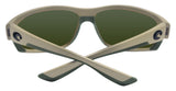 Costa Del Mar Saltbreak Matte Sand Blue Mirror 580G Glass Polarized Lens New