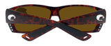 Costa Del Mar Cat Cay Tortoise Frame Green Mirror 580P Plastic Polarized Lens New