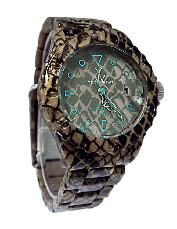 Toywatch FLE02RE Fluo Extreme Python Plasteramic Contast Dial Unisex Watch New