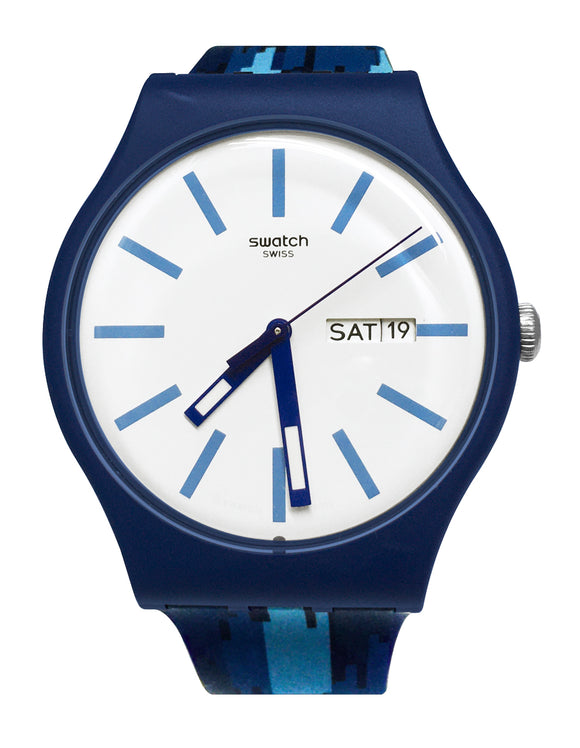Swatch SUON712 Flammablu blue NEW watch