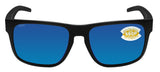 Costa Del Mar Spearo Blackout Blue Mirror 580 Plastic Polarized Lens