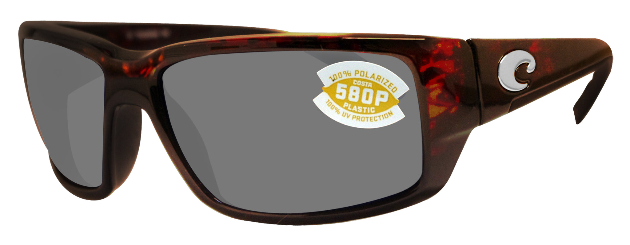 NEW Costa Del Mar FANTAIL Blackout /& 580 Gray Plastic 580P
