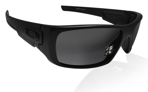 Oakley Crankshaft Matte Black polarized Iridium lens New in Box OO9239-0660