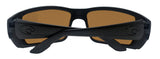 Costa Del Mar Permit Blackout Frame Green Mirror 580G Glass Polarized Lens