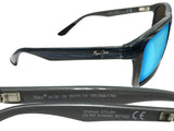 Maui Jim B798-03S Onshore black frame Blue Hawaii lens polarized