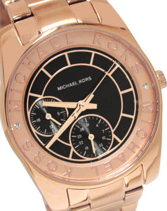 Michael Kors MK6234 Ryland Rose Gold  Women Watch NEW in Box