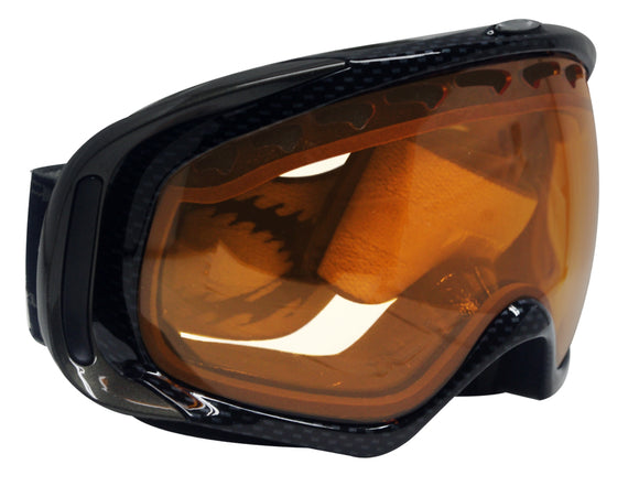 Oakley Crowbar Snow Googles 02-365 Dark Grey Persimmon Lens New