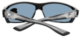 Costa Del Mar Saltbreak Silver Frame Gray 580P Plastic Polarized Lens