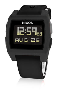 Nixon A1104001 Base Tide All Black Digital Watch New in Box
